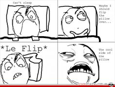 Flip le pillow feels good for five seconds then is hot again then u cant flip it on the other side