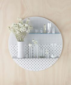 Circle - White,Blue,Grey  | Bride & Wolfe http://www.brideandwolfe.com.au/collections/the-mesh-series