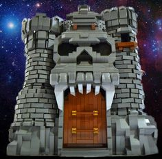 LEGO Castle GraySkull by Fraslund on Flickr