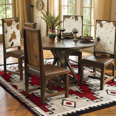 Cattleman's Table & Chairs