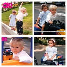 Prince Michael (age 3) and Paris (age 2) in a 1999 Photoshoot.