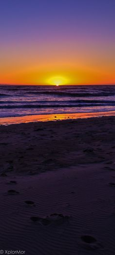 Surfers Sunset. Surfers Point, San Buenaventura, California #xplormor #castateparks