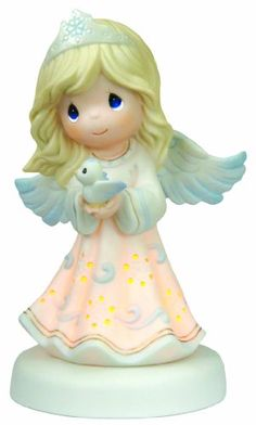 "Precious Moments ""May HIS Light Bring Peace To Your Life"" Figurine - http://www.preciousmomentsfigurines.org/angels/precious-moments-may-his-light-bring-peace-to-your-life-figurine-2/"