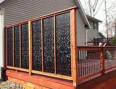 This is not your usual Lattice......Acurio Lattice Panels are unique and decorative! - Thomas Decks