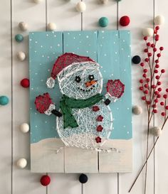 Image result for string art pattern christmas