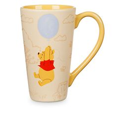 Explore an adorable range of Official Disney Winnie the Pooh merchandise with soft toys, clothing, mugs, accessories & more featuring your favourite little bear. Winnie The Pooh Mug, Winne The Pooh, Pooh Bear, Disney Winnie The Pooh, Casa Disney, Disney Home, Disney Tassen, Disney Coffee Mugs, Accessories
