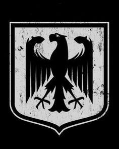 Deutschland Eagle by on DeviantArt Motorcycle Art, Bike Art, Mc Logo, Life Thoughts, Dieselpunk, Art Music, Folk Art, Design Art, Germany