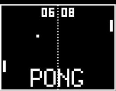 Pong Video Game.