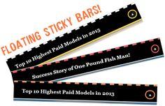 Sticky Floating Bar