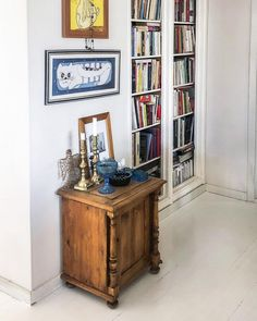 """Country Home & Art Posters on Instagram: """"This bookshelf has all the novels in foreign language, and some educational editions in art, language, food, medicine – also some poetry…"""""""