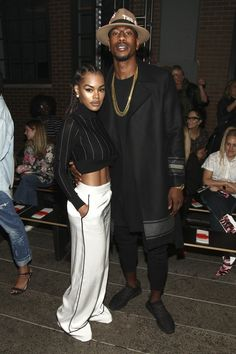 Flex and Flourish  - 11 Times Teyana Taylor and Iman Shumpert Were the Cutest Couple at NYFW 2016