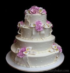 Wedding cake from Audrey's bakery