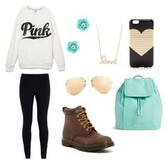 Untitled #9 by sparklyneonpink on Polyvore featuring polyvore, fashion, style, Victoria's Secret, NIKE, Dr. Martens, Vera Bradley, Sydney Evan, J.Crew, Ray-Ban and clothing