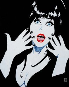 Elvira, Mistress Of The Dark Frankenstein, Gothic Culture, Halloween, Vintage Horror, Freddy Krueger, Jason Voorhees, Macabre, Dark Art, Mistress