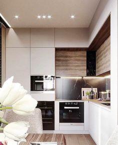19 Trendy ideas for kitchen countertops stone interior design Kitchen Room Design, Modern Kitchen Design, Living Room Kitchen, Kitchen Layout, Home Decor Kitchen, Interior Design Kitchen, Home Kitchens, Stone Interior, Kitchen Furniture