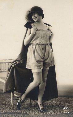 vintage lady ♡ Vintage Lingerie