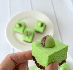 Peppermint Cheesecake Slice 1