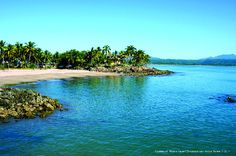 Playa las islitas en San Blas Nayarit, México