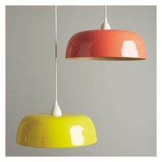 Luxury orange lamps lampshades and lighting retro vintage orange exclusive to habitat the moxley orange lacquered spun bamboo ceiling light shade adds colour and energy to a scheme buy now at habitat uk aloadofball Gallery