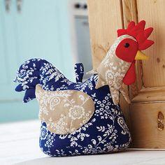I Love Handmade: Chicken Door Stop by Ulster Weavers