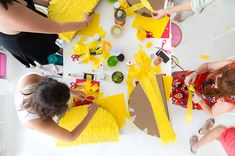 Taco Piñata Workshop Recap (+ A Giveaway! Mexican Pinata, Mexican Party, Mexican Horchata, Push Pop Confetti, Crazy Wedding, Taco Party, Creative Decor, Custom Labels, Cinco De Mayo