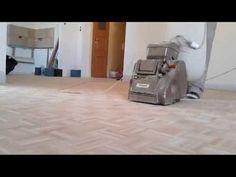 Cyklinowanie mozaiki parkietowej Bydgoszcz - YouTube