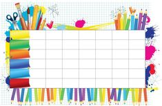Illustration of School timetable for student`s notes vector art, clipart and stock vectors. School Timetable, Preschool Worksheets, Vector Art, Vector Stock, Clip Art, Student, Writing, Google, Timeline