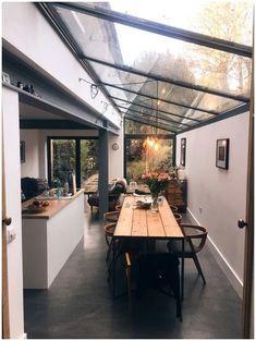 64 ideas house design exterior and interior modern 17 Industrial Kitchen Design, Outdoor Kitchen Design, Modern Kitchen Design, Interior Design Kitchen, Modern Interior, Kitchen Decor, Scandinavian Interior, Modern House Design, Kitchen Designs