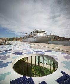 Terminal de Cruceros en el Puerto de Cartagena. Martín Lejarraga