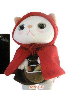 韓国生まれの猫キャラ「チューチュー」ぬいぐるみ赤ずきんマントMサイズ|ROOM - my favorites, my shop 好きなモノを集めてお店を作る