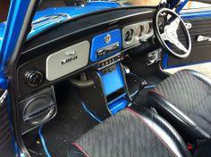 classic mini custom interior