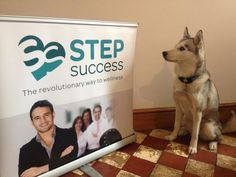Suki is the boss at Step Success. Here, she's confirming her acceptance of Step Success's banners for LIW 2013