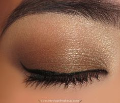"""UrbanDecayNakedPalette: EYES  - Too Faced Shadow Insurance (to prime lid)  - MAC Limited Edition E/S in """"Femme Fi"""" (highlight)  - Urban Decay Naked Palette E/S in """"Buck""""(center lid to inner corner)  - Urban Decay Naked Palette E/S in """"Smog"""""""