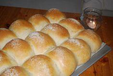 Rundstykker laget på surdeig - Passion For baking Feta, Hamburger, Bread, Baking, Patisserie, Brot, Backen, Hamburgers, Breads
