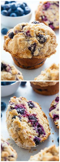 Moist and fluffy my homemade JUMBO Blueberry Crumb Muffins are even better than the ones from the bakery! Moist and fluffy my homemade JUMBO Blueberry Crumb Muffins are even better than the ones from the bakery! Blueberry Crumb Muffins, Blue Berry Muffins, Cranberry Muffins, Blueberries Muffins, Muffin Recipes, Cake Recipes, Dessert Recipes, Healthy Desserts, Best Muffin Recipe