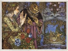 Beauty and the Beast by Mercer Mayer  (one of my favorite illustrations of this story!)