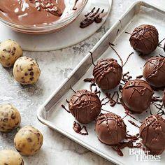 Chocolate chip truffles