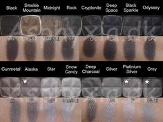 NYX 162 single eyeshadow swatches, complete with the 50 retired shades. Nyx Single Eyeshadow, Nyx Eyeshadow, Makeup To Buy, Makeup Dupes, Makeup Geek, Makeup Tools, Makeup Products, Beauty Products, Makeup 101