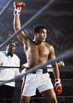 Muhammed Ali - Float Like a Butterfly Sting Like a Bee.