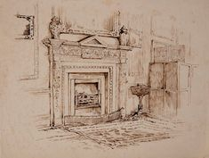 Four new Beatrix Potter illustrations have been discovered in England. The architectural drawings are related to Potter's time in Melford Hall.
