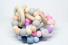 Hey, I found this really awesome Etsy listing at https://www.etsy.com/listing/501795959/montessori-toy-baby-teething-bracelet