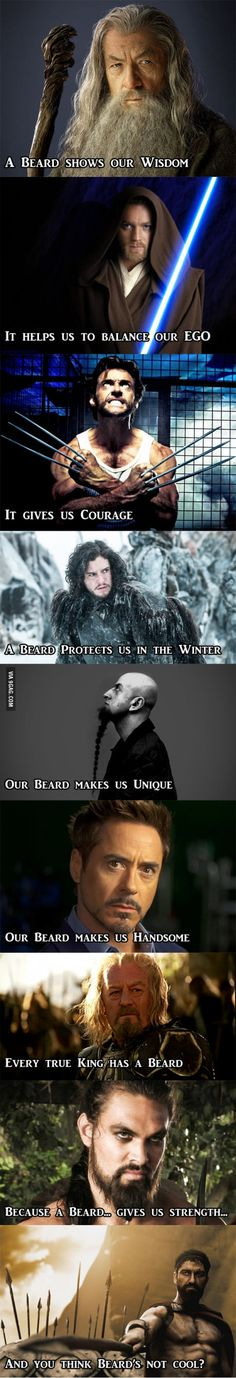 9 Reasons Beard Is Cool