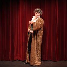 Le Misanthrope Anabase Productions. Thomas Grascoeur dans le rôle d'Oronte. Costume de Mélodie Alves