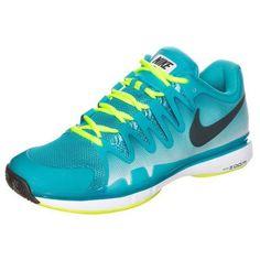 21ae7a30dcbe Nike Zoom Vapor 9.5 Tour Mens Tennis Shoes 8 Blue Lagoon Federer 631458 407