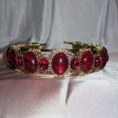 Anne Boleyn ruby headband. I guess Anne Boleyn had swag