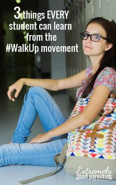 How to teach students #walkup and #walkout are not mutually exclusive
