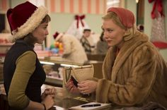 Carol is based on Patricia Highsmith's novel The Price of Salt, published under a pseudonym in 1952. Written before the women's liberation movement or Stonewall riots took place in the US, at a time which wasn't great for being a woman or being gay, the novel was remarkable in its positive portrayal of lesbian love.