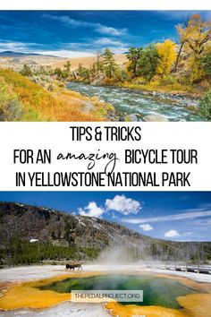 I went on an 11-Day biking trip to Yellowstone Grand Teton National Park, and I'm sharing with you my tips & tricks for a successful bicycle tour in Yellowstone National Park: the best time to go there, what type of terrain you'll find, best sleeping options for bicycle tourists, where to find water spots, my highlight stops & the best Yellowstone attractions adventure travelers & cyclists will love to do there. Start to plan your bicycle adventure in Yellowstone Grand Teton National Park now! National Parks Usa, Grand Teton National Park, Yellowstone Attractions, Usa Travel, Travel Tips, Us Park, Water Spots, Recreational Activities, Travel Activities