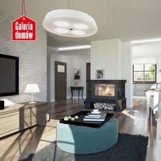 Wnętrze domu przy Cyprysowej 12 Flat Screen, Home Decor, Living Room, Projects, Blood Plasma, Decoration Home, Room Decor, Flatscreen, Home Interior Design