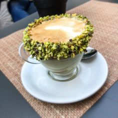 Must have this while in Florence Florence Food, Pistachio, Jealous, Pudding, Italy, Desserts, Recipes, Travel, Instagram
